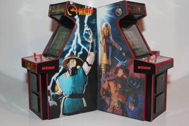Mortal Kombat  Mini Arcade Cabs 2 by gamgalien