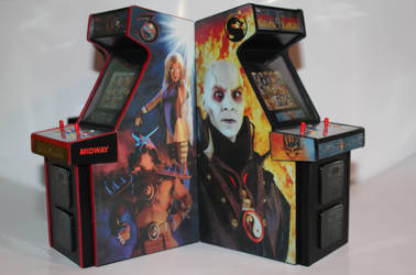 Mortal Kombat  Mini Arcade Cabs 3 by gamgalien