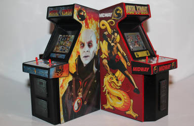 Mortal Kombat  Mini Arcade Cabs 5 by gamgalien