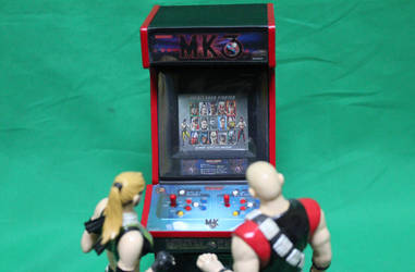 Mortal Kombat 3 Mini Arcade Cabs 1 by gamgalien