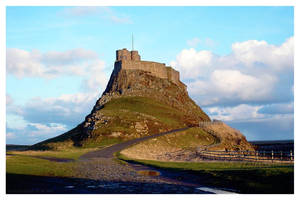 Landisfarne Castle by Dabro