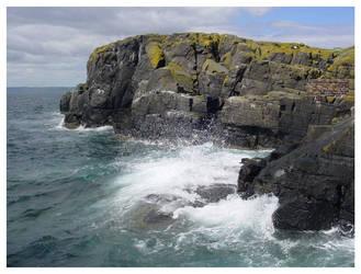 Splashing on the Rocks by Dabro