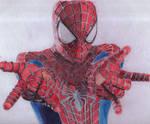 Spiderman - ballpoint pen by jasarmiento