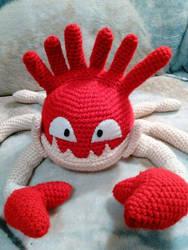 Crochet Kingler Plush by ArtisansShadow