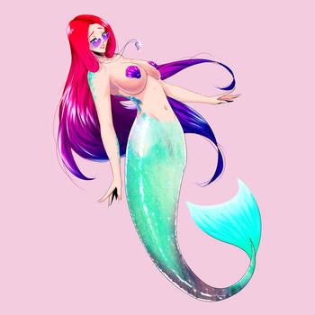 Mermaid Rae by GABRIELAGOGONEA