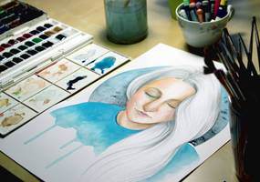 Work in progress by AirelavArt