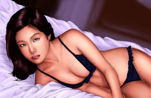 Kinoshita Ayumi by dylanliwanag