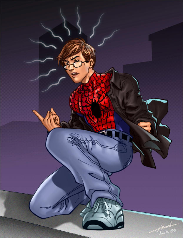 Spidey Commission by dylanliwanag