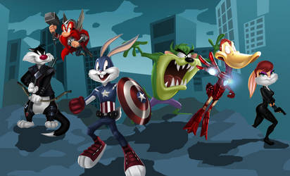 Looney Vengers by dylanliwanag