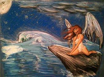 Angel ocean by Moshman88