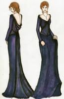 Hermione Yule Ball Dress by TheWalrusWasPaul