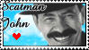 Scatman Stamp by Coraleana
