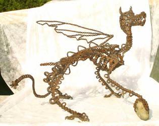 startled dragon by putoparvose