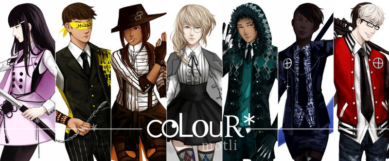 coLouR* Teaser Lineup by raineymotley