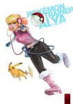 .pokemon trainer alya. by houoh