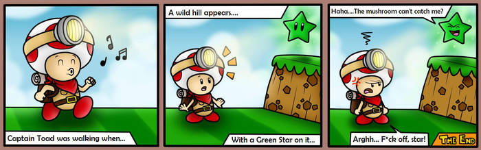 Captain Toad can't jump!! by BoxBird
