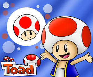 Yeah Toad!! Here I go!! by BoxBird