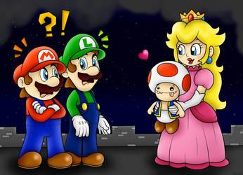 Luigi's Ballad: I choose....Toad!!! by BoxBird