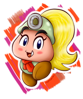 AT: The smart Goomba girl by BoxBird
