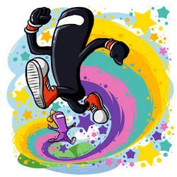 Rainbow Rhythm Runners! by BoxBird