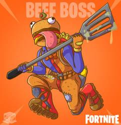 The Boss of Durrr Burger! by BoxBird