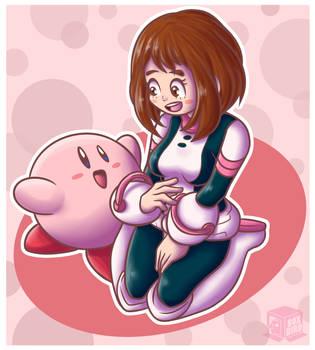 Pink floaty cuties! by BoxBird