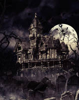 Haunting House by miralayhakan