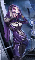 Tali redesigned by Scrappy195