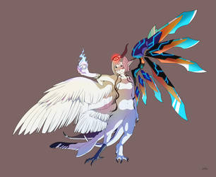 Secret magic weapon by Nolhyaa