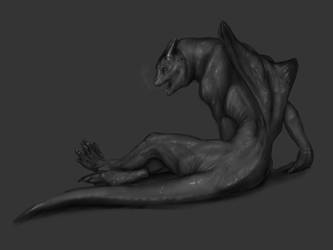 Were-Dragon Transformation by Nolhyaa
