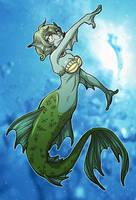 mermaid calista by wulfmune
