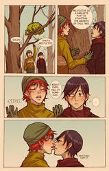 OB christmas 2011 comicpage contest by wulfmune