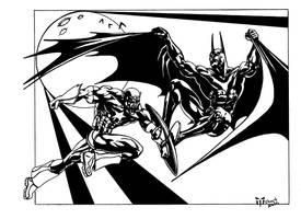 BAT an CAP by Hyborian222