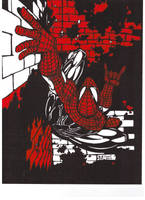 Sin-City SPIDER by Hyborian222
