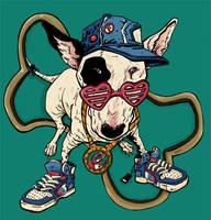 Hip Hop Dog by fed44
