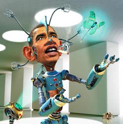 Obamabot 2.0 by RodneyPike