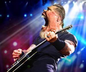 James Hetfield of Metallica by RodneyPike