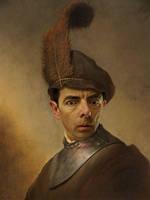 Rembrandt Soldier - Bean by RodneyPike