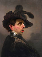 Rembrandts Portrait of a Bean by RodneyPike