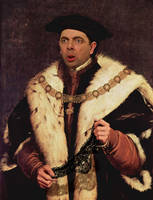 Hans Holbein - HolBean The Panty Scandle by RodneyPike