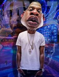 Rapper Jay Z by RodneyPike