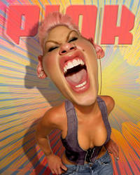 American Singer Songwriter - P!nk by RodneyPike