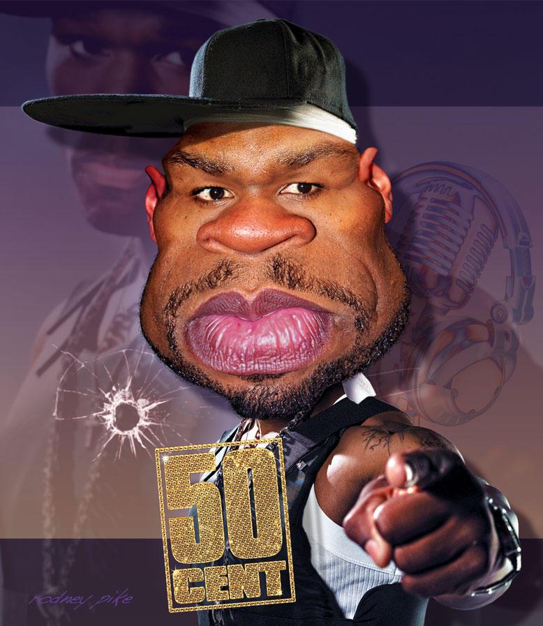 Rapper 50 Cent by RodneyPike