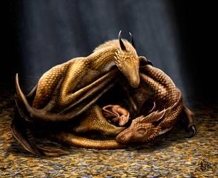 Dragons' Treasure by Skye-Fyre