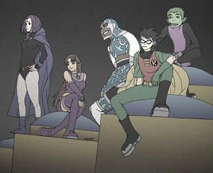Teen Titans GO by osy057