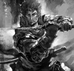 samurai by henryz