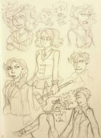 heathers doodles by Micky-Ann