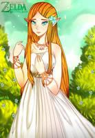 Sad Zelda BoTW by M4LoZ