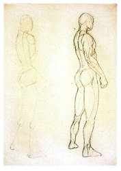 Male figure by CraigMucha