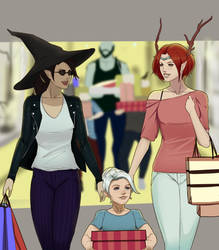 VM out shopping by Gearfreed